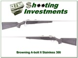 Browning A-bolt II Stainless 300 Win Mag