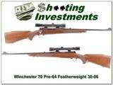 Winchester 70 pre-63 Featherweight 30-06 with Weaver