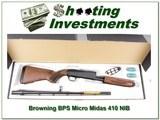 Browning PBS Micro Midas 410 bore NIB