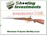 Winchester 70 XTR Sporter 300 Weatherby in BOX!