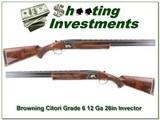 Browning Citori Grade 6 12 Gauge Exc Cond!
