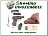 Makarov German made in 9mm Makarov 3 Mags, collector!