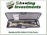 Beretta AL391 Urika II 12 Ga Camo in case