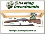 Remington 870 Wingmaster RARE 16 Ga NIB!