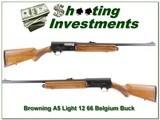 Browning A5 Magnum 12 66 Belgium Exc Cond!