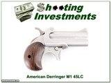 American Derringer 45 LC / 410 Model 1 M1 Excellent