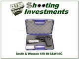 Smith & Wesson 410 40 S&W NIC