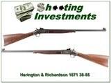 Harrington & Richardson 1871 single shot in 38-55 - 1 of 4