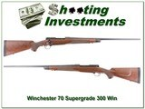Winchester Model 70 Classic Supergrade 300 Win Mag