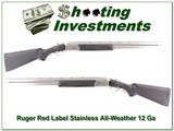 Ruger Red Label All-weather Stainless 12 Gauge!
