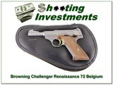 Browning Challenger Renaissance 71 Belgium RARE!