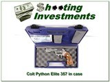 RARE Colt Python Elite 4in Stainless ANIC!