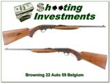 Browning 22 Auto 59 Belgium
