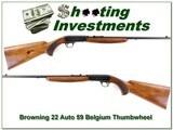 Browning 22 Auto 59 Thumbwheel
