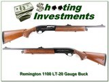 Remington 1100 LT-20 20 Gauge Buck barrel Exc Cond!