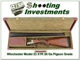 Winchester Model 23 XTR Pigeon Grade 20 Gauge in case