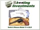 Smith & Wesson Model 17-4 6in 22LR NIB!