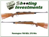 Remington 700 BDL 270 Winchester