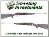 Browning A-bolt II LH Staonless Stalker 30-06 w BOSS!