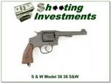 Smith & Wesson Model 38 38/200 British Service revolver