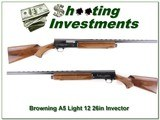Browning A5 Light 12 26in VR Invector barrel