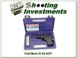 Colt Mark IV 80 Officers Lightweight 45 ACP