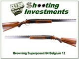 Browning Superposed Lightning 12 Ga 28in collector!