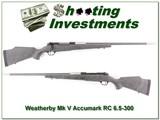 Weatherby Mark V Accumark RC in 6.5-300 Wthy MAG