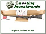Ruger 77 Hawkeye Stainless Laminate 308 Win in box - 1 of 4