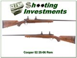 Cooper Model 52 walnut in hard to find 25-06