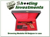 Browning Medalist 22 RARE first year 58 Belgium - 1 of 4