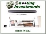 SKB 200 HR 28 Gauge SxS XX Wood in box - 1 of 4