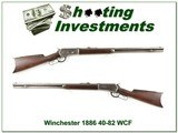 Winchester 1886 made in 1894 rare 40-82 WCF - 1 of 4