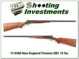 New England Firearms Partner SB1 12 Ga 3in 28in Mod - 1 of 4