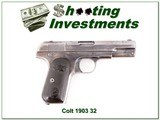 Colt 1903 Automatic 32 ACP made in 1907 - 1 of 4
