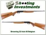 Browning 22 Auto 65 Belgium 22LR - 1 of 4