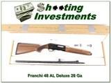 Franchi 48 AL Deluxe 28 Gauge ANIB!