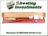 Winchester Model 70 DBM in 284 Winchester RARE!
