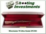 Winchester Model 70 Ultra-Grade 270 NIB with case!