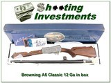 Browning A5 Classic XX Wood as new in box!