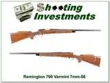Remington 700 Varmint Special RARE 7mm-08!