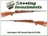 Remington 700 Varmint Special 22-250 Remington