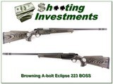 Browning A-bolt Eclipse Laminated 22-250 Rem with BOSS