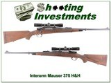 Interarms Whitworth Mauser 375 H&H w ammo