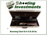 Browning Grade 6 12 and 20 2 barrels set new and unfired!
