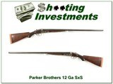 Parker Brothers Grade 2 1891 made 12 gauge