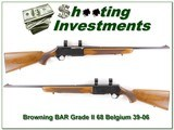 Browning BAR Grade II 68 Belgium 30-06