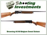 Browning A5 Sweet Sixteen 60 Belgium 28in Mod