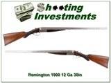 Remington 1900 KED 12 Ga 30in Exc Cond!