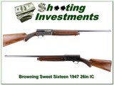 Browning A5 1947 Seet Sixteen 26in IC!